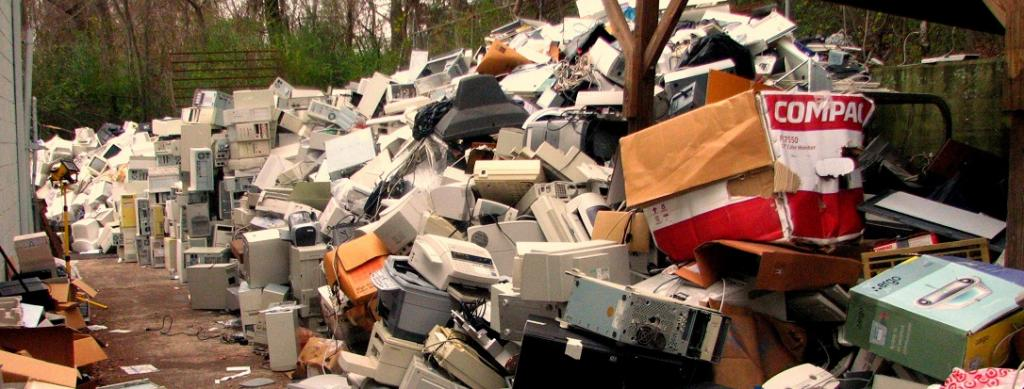 There was 53.6 million tonnes of electronic waste in 2019, according to a new United Nations University report. Photo: Flickr