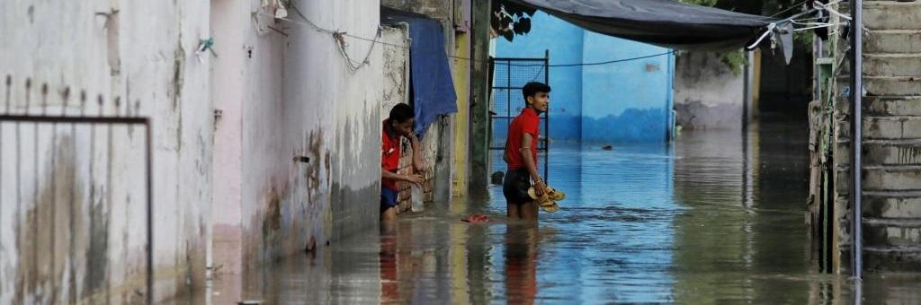 Average rainfall across the country from June 1 to July 13 was 12 per cent more than normal. Photo: Vikas Choudhary