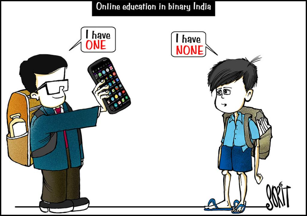 Simply put: The binary of online schooling