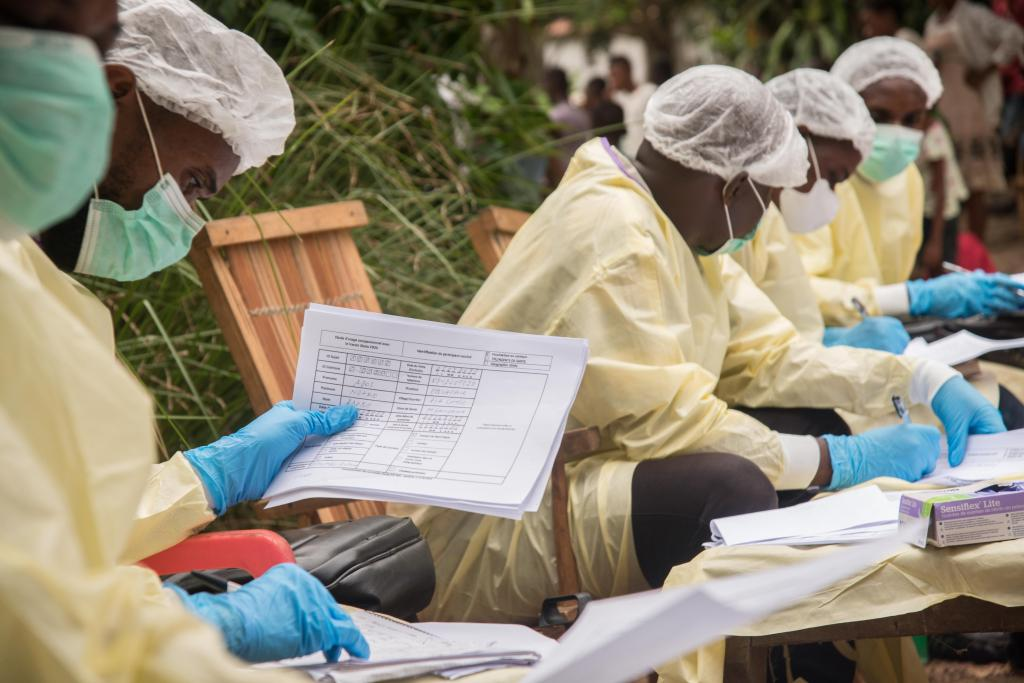 The Ebola outbreak in the Democratic Republic of the Congo's Equateur Province continues to grow. Photo: World Health Organization