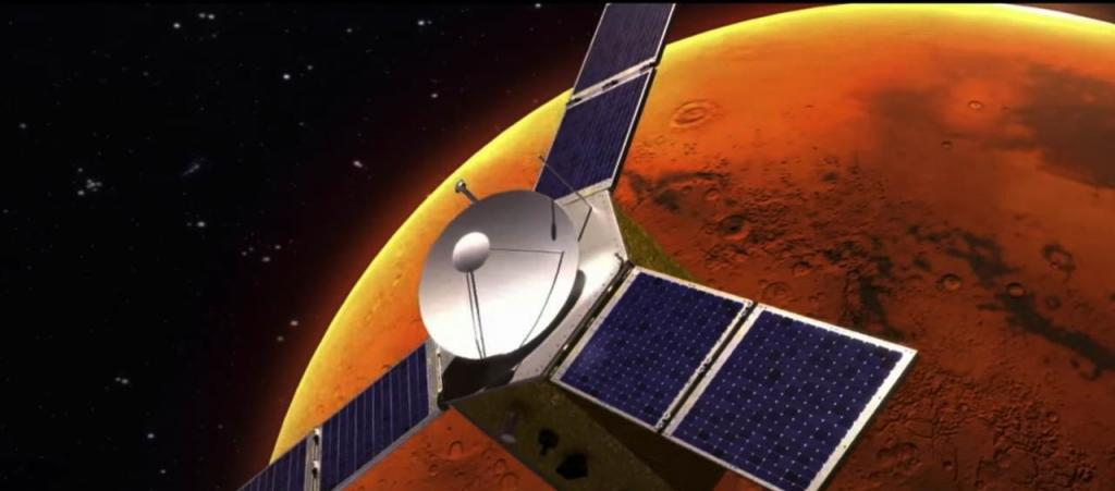 Mission Hope — the United Arab Emirates first interplanetary mission — took off on a seven-month space exploration on July 20, 2020. Photo: MBRSC