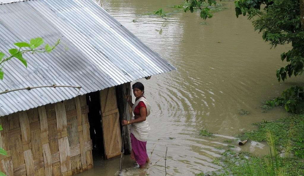 At least 90 per cent of Assam's districts are flooded and more than 50,000 people are in relief camps. Photo: iStock