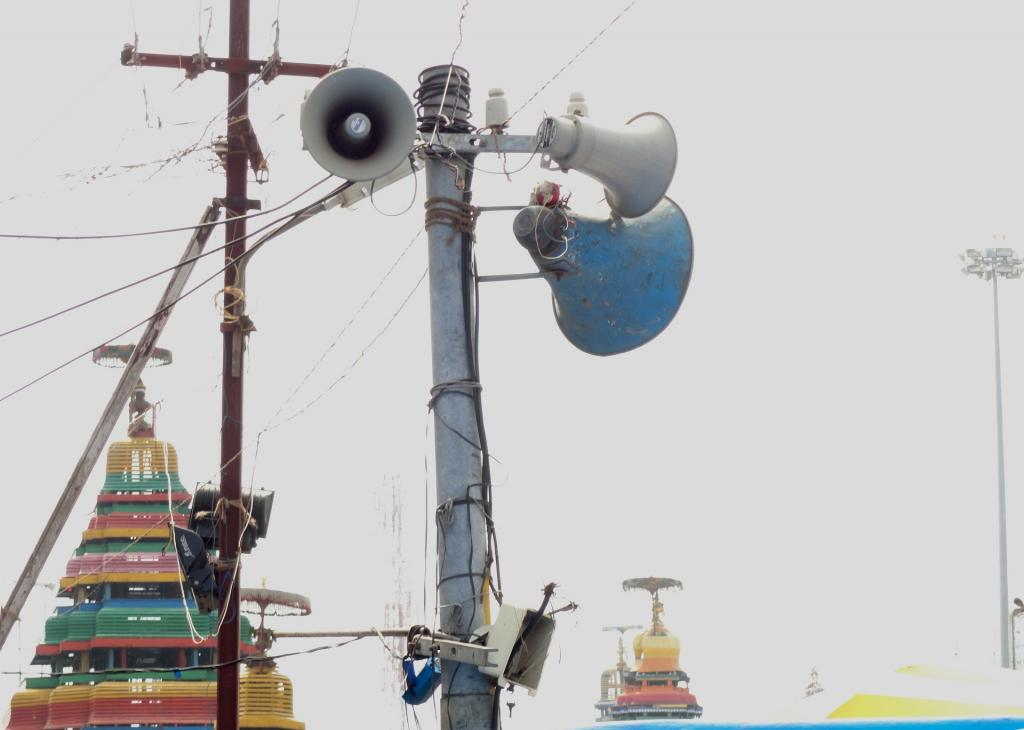 Noise has increasingly become a nuisance in India, especially in urban areas. Photo: Wikimedia Commons