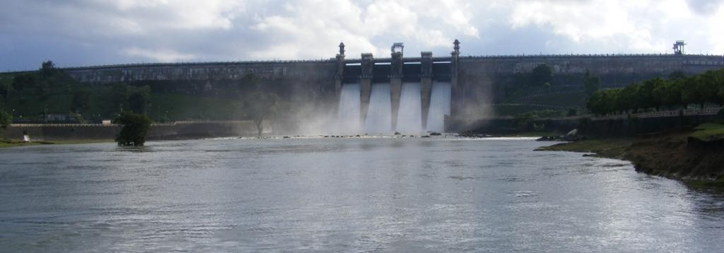 Most river basins monitored by the CWC have more than normal storage. Photo: Wikimedia Commons