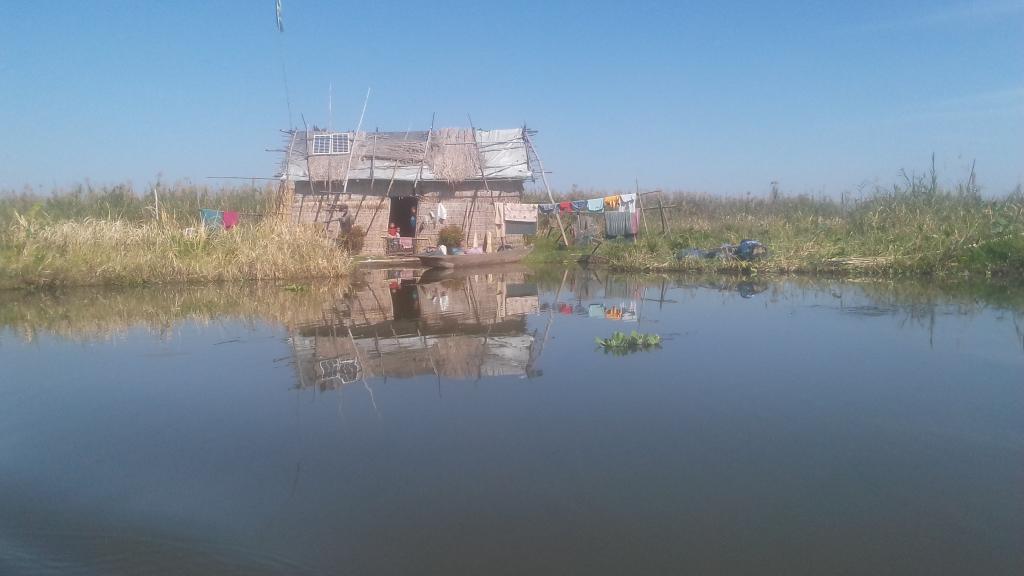 Families living at Loktak Pat are dependent on fishing. Photo: Salam Rajesh
