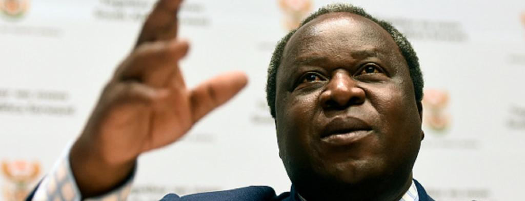 South Africa's finance minister Tito Mboweni says the IMF loan will limit the country's economic vulnerabilities which have been exacerbated by COVID-19. Photo: Gallo Images / Brenton Geach