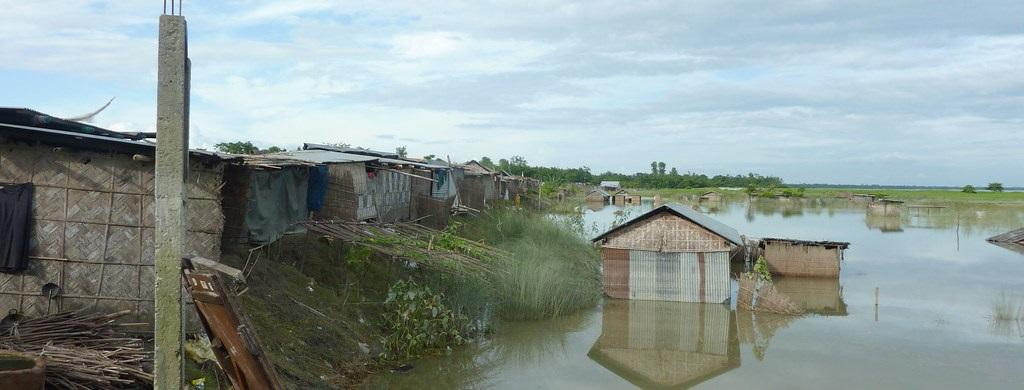 More than 100 people have died in Assam floods. Photo: Flickr