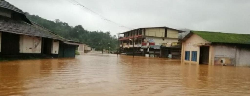 Karnataka staring at flood-like situation. Photo: Democracy Times Network @TimesDemocracy