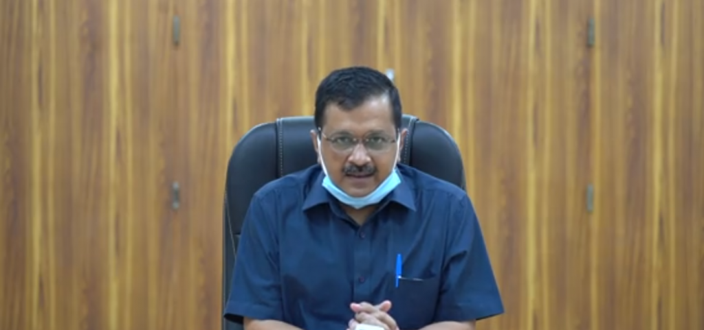 The Delhi government August 7, 2020, notified the new Electric Vehicle Policy. Photo: Arvind Kejriwal Twitter handle