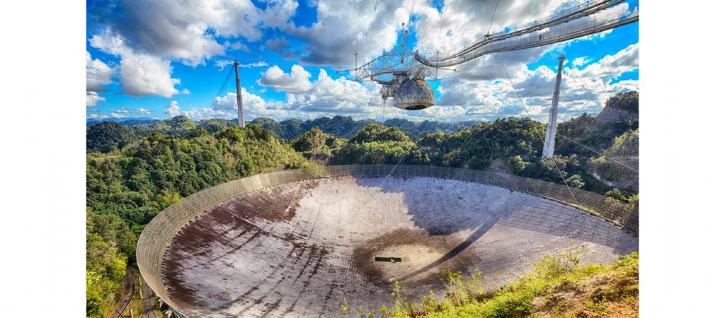 The facility is home to one of the most powerful telescopes on the planet and is used by scientists around the world to conduct research in the areas of atmospheric sciences, planetary sciences, radio astronomy and radar astronomy. Photo: iStock