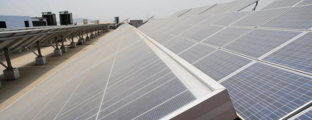 Solar PV tariff dipped to Rs 2.44 per kilowatt-hour (kWh) from about Rs 15 / kWh in the past decade in India. The current decade will be accompanied by more innovations and developments. Photo: Meeta Ahlawat