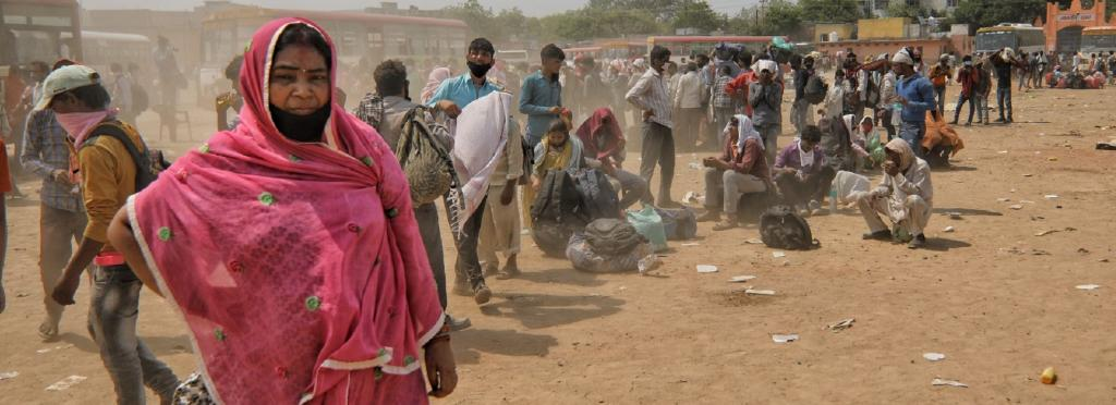 COVID-19 betrayed the hopes of migrant workers by stripping off any last shred of dignity they had left, as cities shut their doors, pushing them to walk home en masse. Photo: Vikas Choudhary
