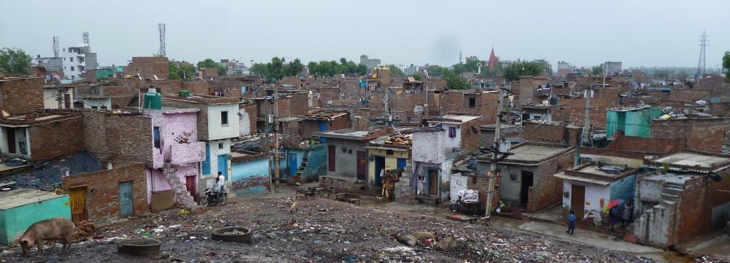 India's urban growth trajectory was characterised by sub-optimal public infrastructure and services and unplanned urban sprawl. Photo: Satwik Mudgal