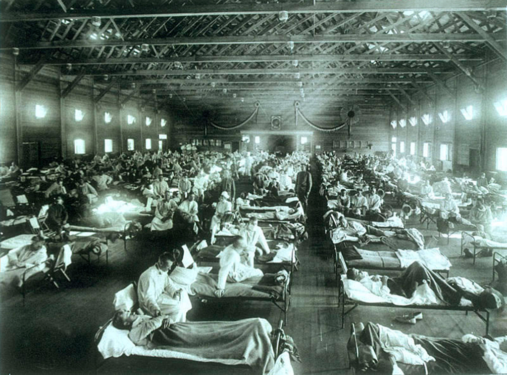 A century after the Spanish flu, the COVID-19 pandemic has shaken the confidence of humanity. Photo: Wikimedia Commons