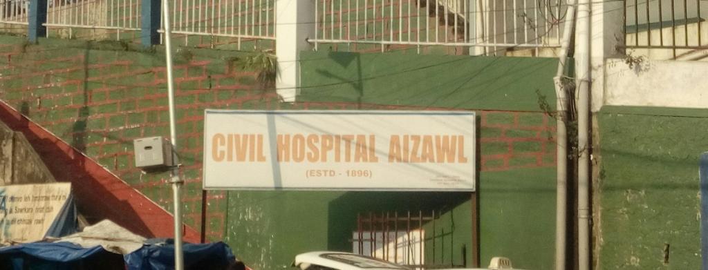 Aizawl civil hospital was able to hire more manpower using their funds amid the novel coronavirus disease (COVID-19) pandemic. Photo: Twitter / Kannan Gopinathan / @naukarshah