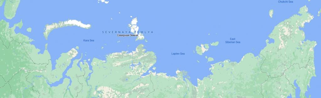 Global Eco Watch: Scientists map transport of fresh water in seas of the Arctic Ocean. Photo: Google Earth