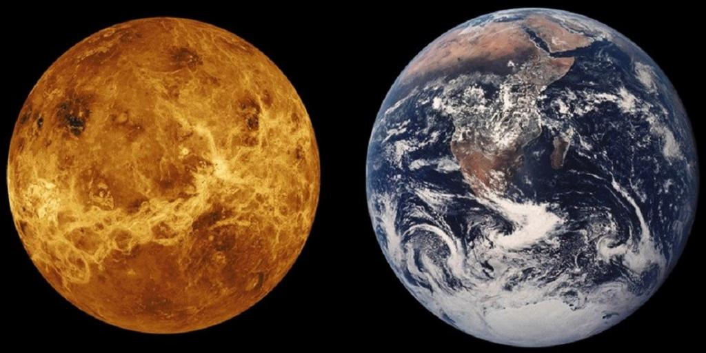 Venus: could it really harbour life? New study springs a surprise. Photo: Pixy.org