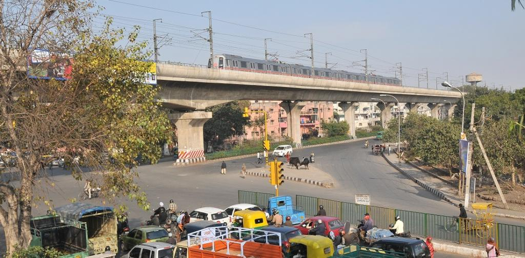 Delhi, other Indian cities need to provide affordable housing near transit. Photo: Meeta Ahlawat