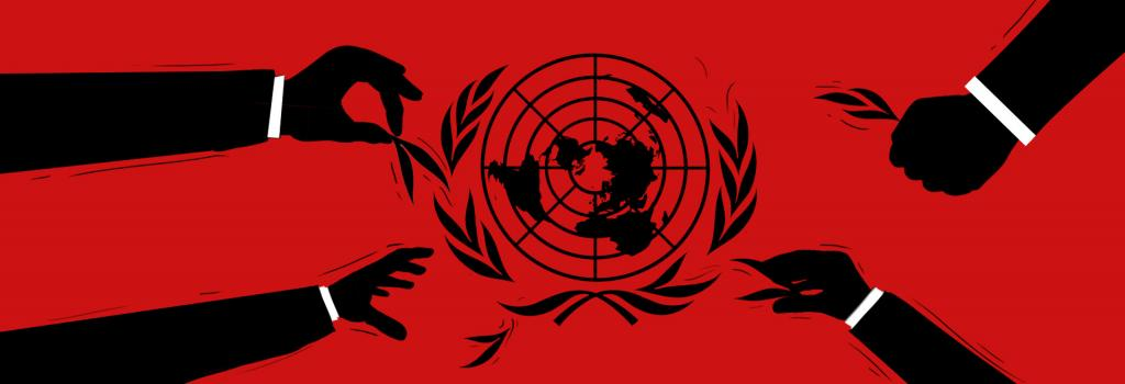 The UN was set up after World War II, and today, we are at the beginning of a new one—only this time, it is a war against democracy