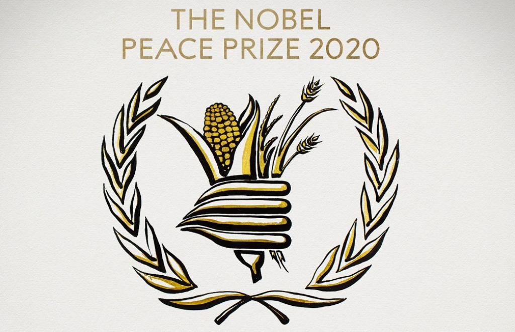 World Food Programme wins Nobel Peace Prize.