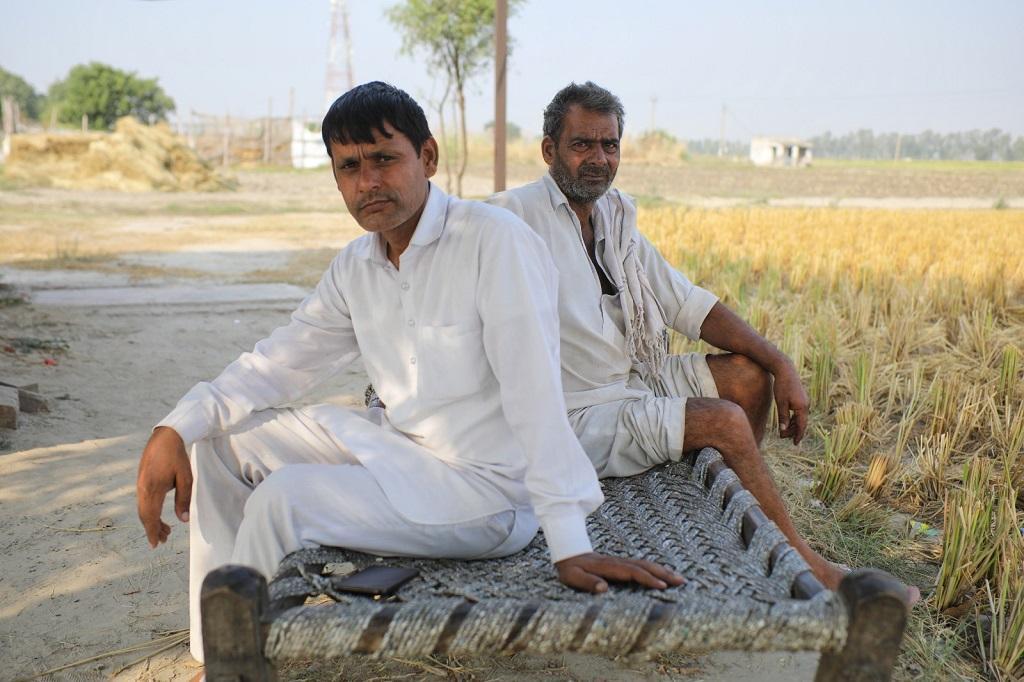 पानीपत के किसान नवाब सिंह। फोटो: विकास चौधरी