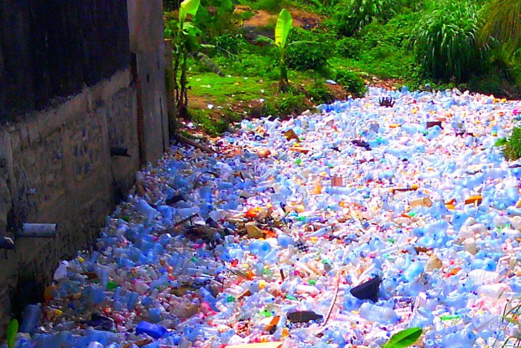 Plastic waste also increases plastic waste