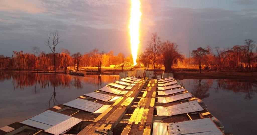 NGT Committee renders entire Baghjan oil field illegal. Photo: @DDNewslive / Twitter