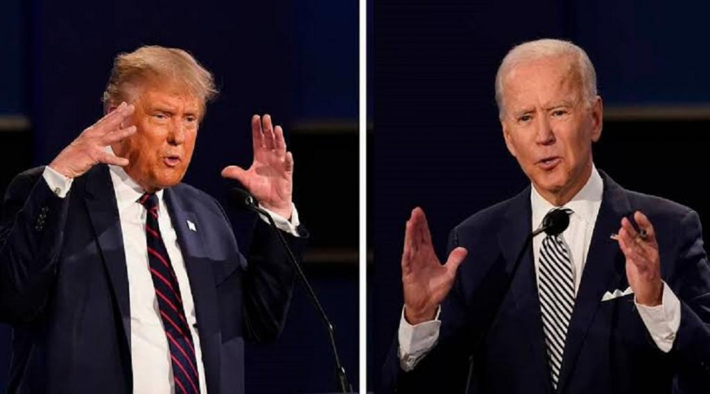 Trump and Biden differ substantially on various climate issues. Photo: @SelckBrenden / Twitter