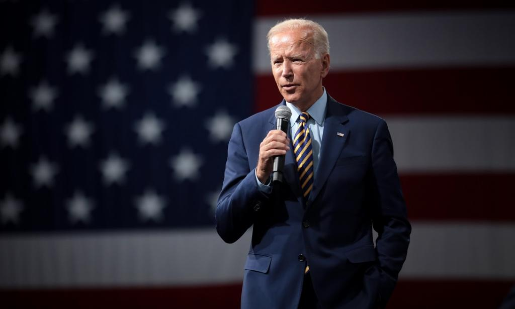 Joe Biden has a tall order to fill on climate change if he wins. Photo: Wikimedia Commons