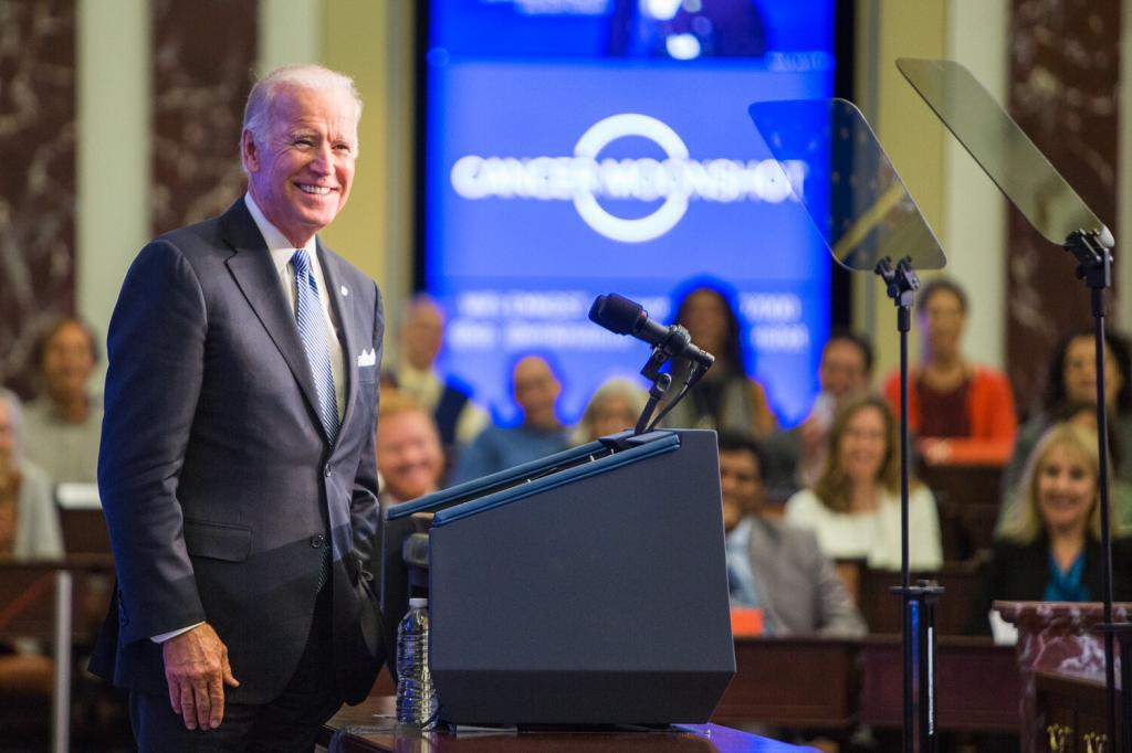 Biden currently leads Trump by 49.8 per cent to 48.5 per cent in the national popular vote. Photo: UCpublicaffairs