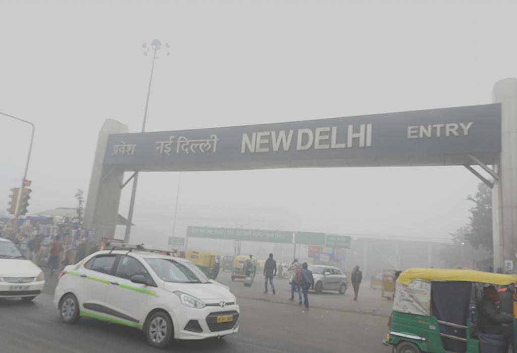 The concentration of harmful and toxic pollutants in Delhi's air was around five-and-a-half times more than the prescribed value November 5. Photo: Wikimedia Commons