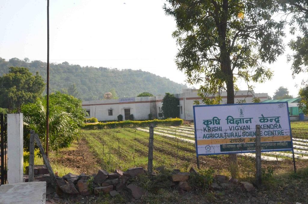 बनखेड़ी गांव से पांच किमी दूरी पर स्थित है कृषि विज्ञान केंद्र। फोटो राकेश कुमार मालवीय