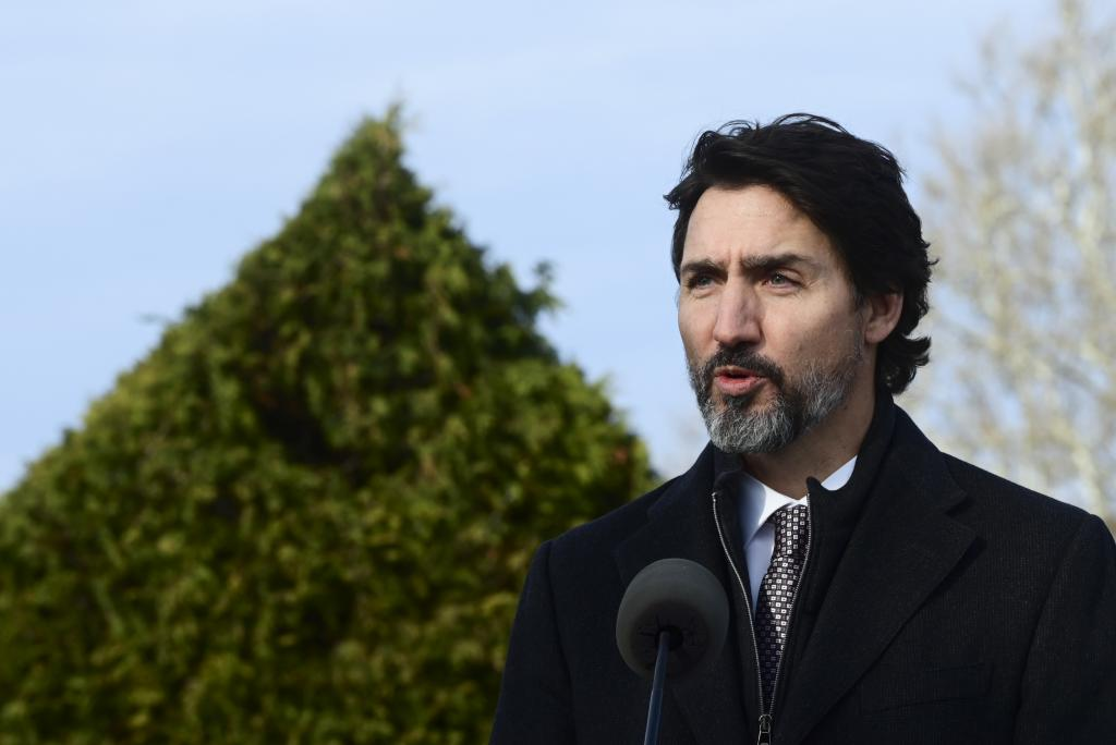 The Trudeau government has tabled a bill that, if passed, would legally bind Canada to achieving net-zero carbon emissions by 2050. Photo: The Conversation / The Canadian Press / Sean Kilpatrick