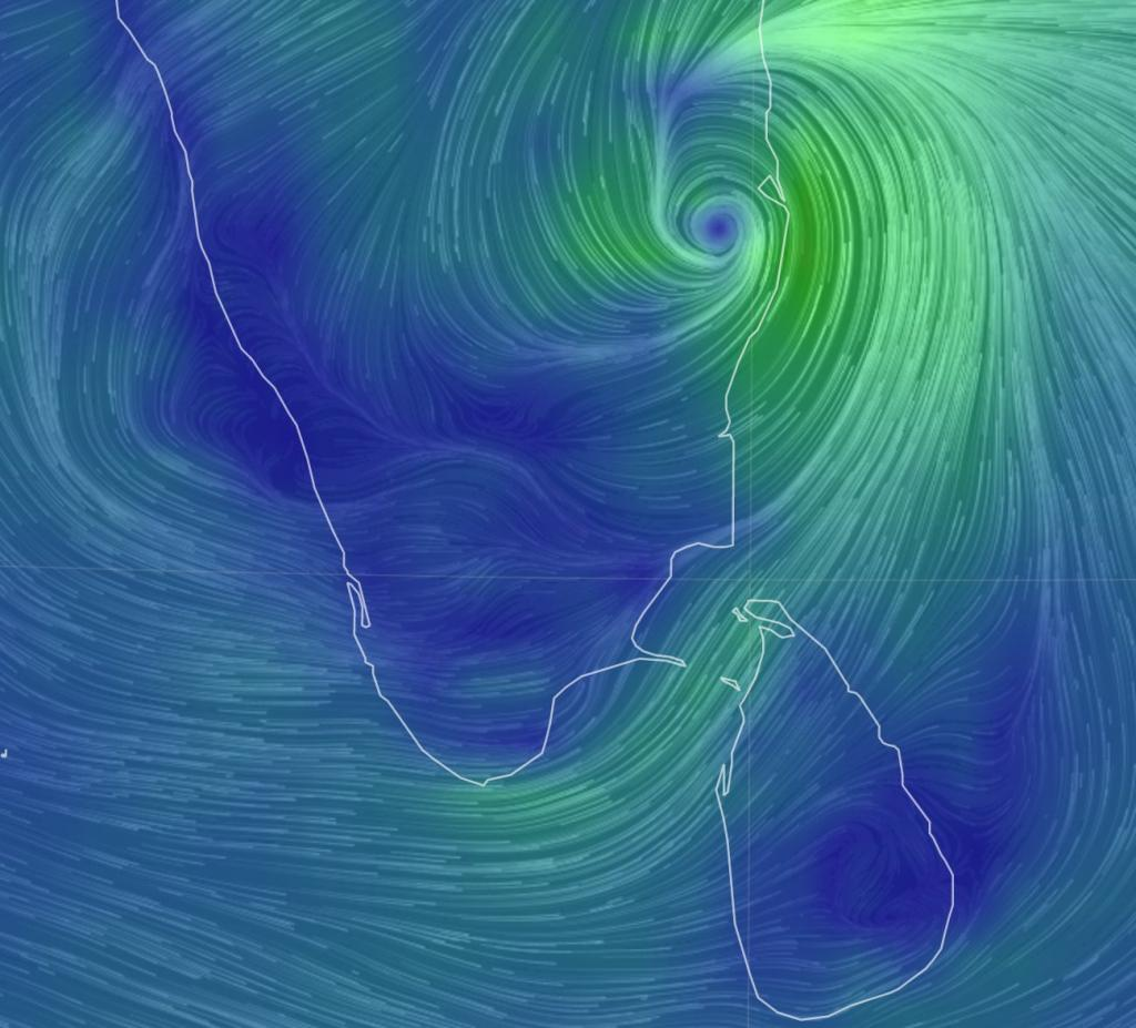 Cyclone Nivar made a late-night landfall near Puducherry November 25, 2020. Chennai has remained shut for two days.