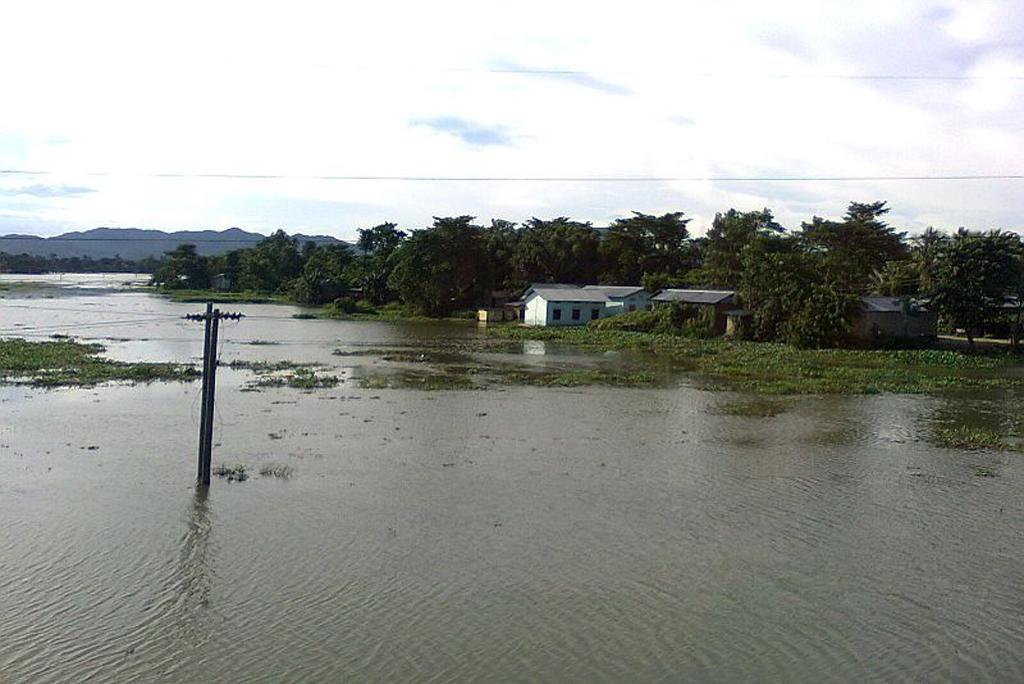 Flood rains may increase in Brahmaputra river