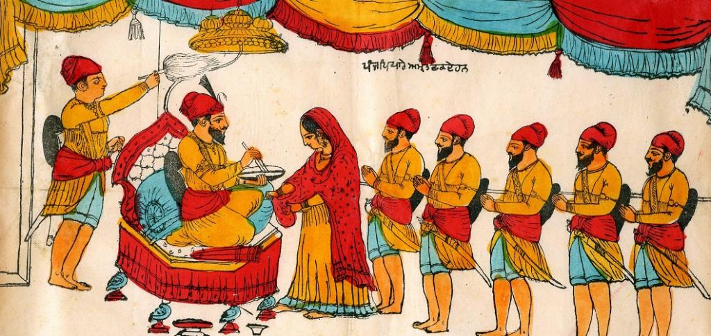 The formation of the Khalsa in 1699 heralded the ascendancy of Jat peasants in the Punjab, according to historians. Photo: Wikimedia Commons