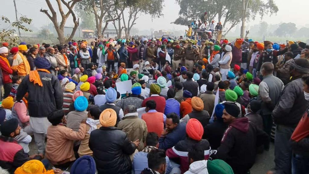 Farmer leaders December 9, 2020 rejected the Union government's draft amendments and reiterated the demand of repealing the three farm laws. Photo: Twitter