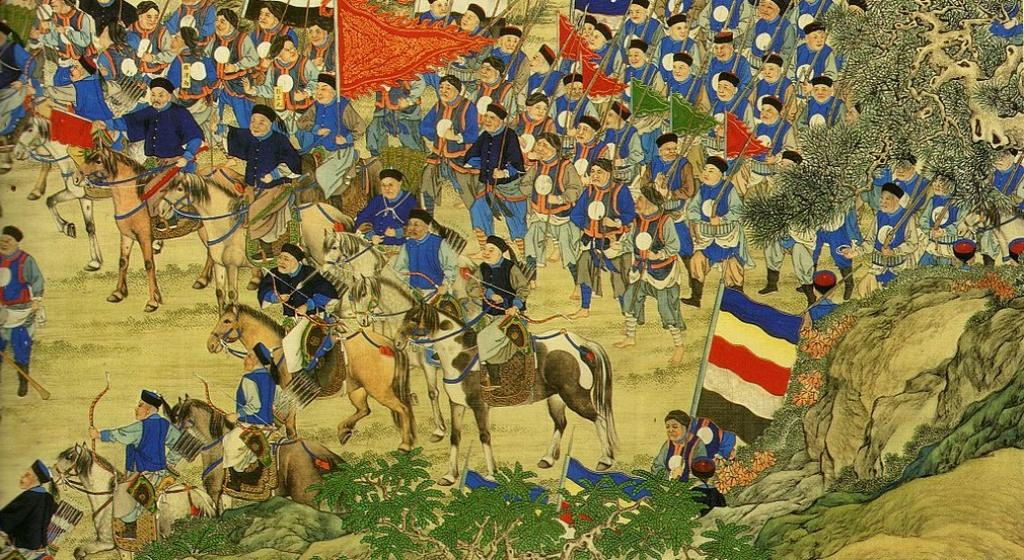 A battle during the Taiping Rebellion in China. Photo: Wikimedia Commons
