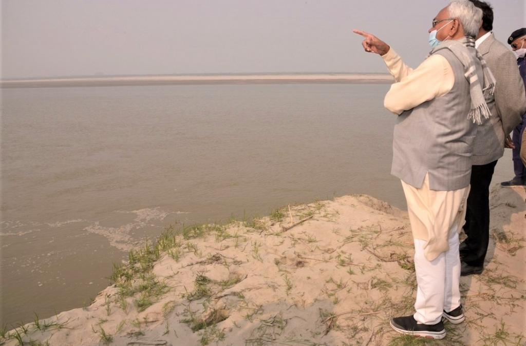 Bihar's new sorrow? State to change Kosi's course to save ancient site, says Nitish. Photo: C K Manoj