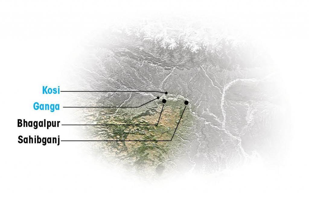 A map showing the approximate location of the area. Photo: Vijayendra Pratap Singh / CSE