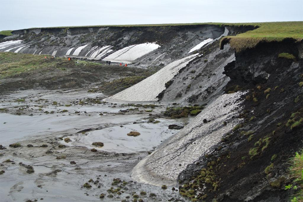 The melting of Arctic Permafrost