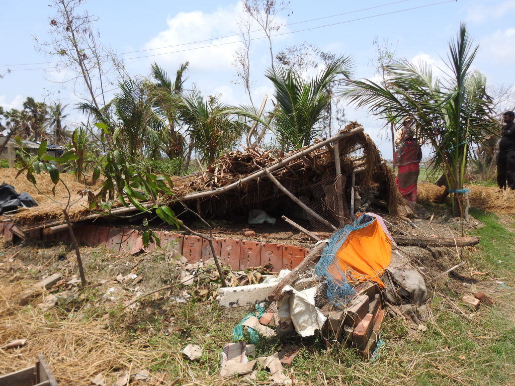 Cyclone Amphan led to the biggest displacement in the world during 2020. Photo: Medha Basu