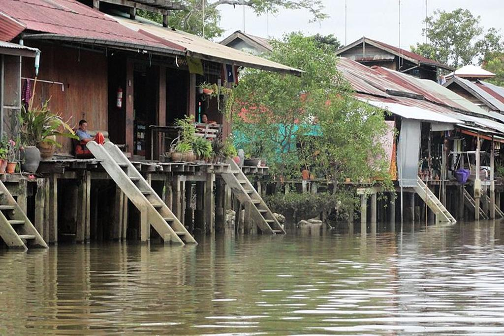 The GHS-F system can help reduce flood damage