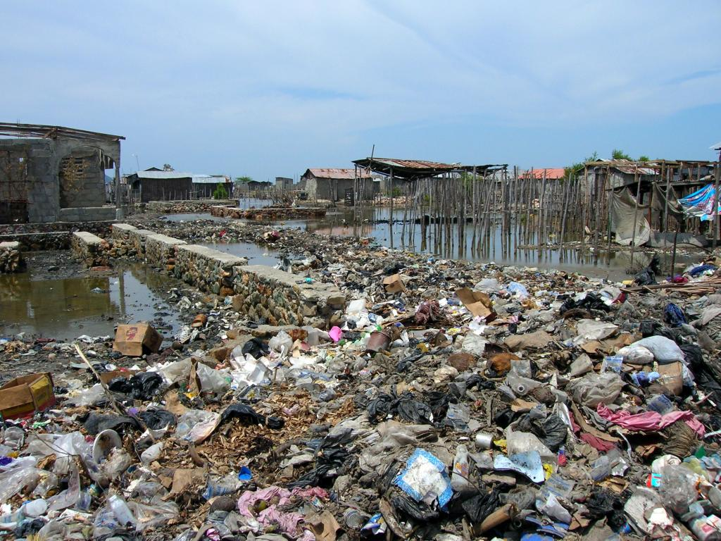 The North East India does not have a proper waste management system or waste water treatment plants. Photo: Wikimedia Commons
