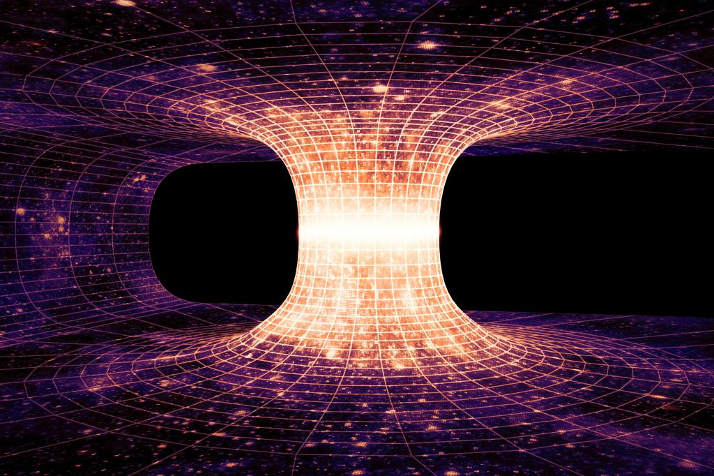 Wormholes are lurking all over the universe