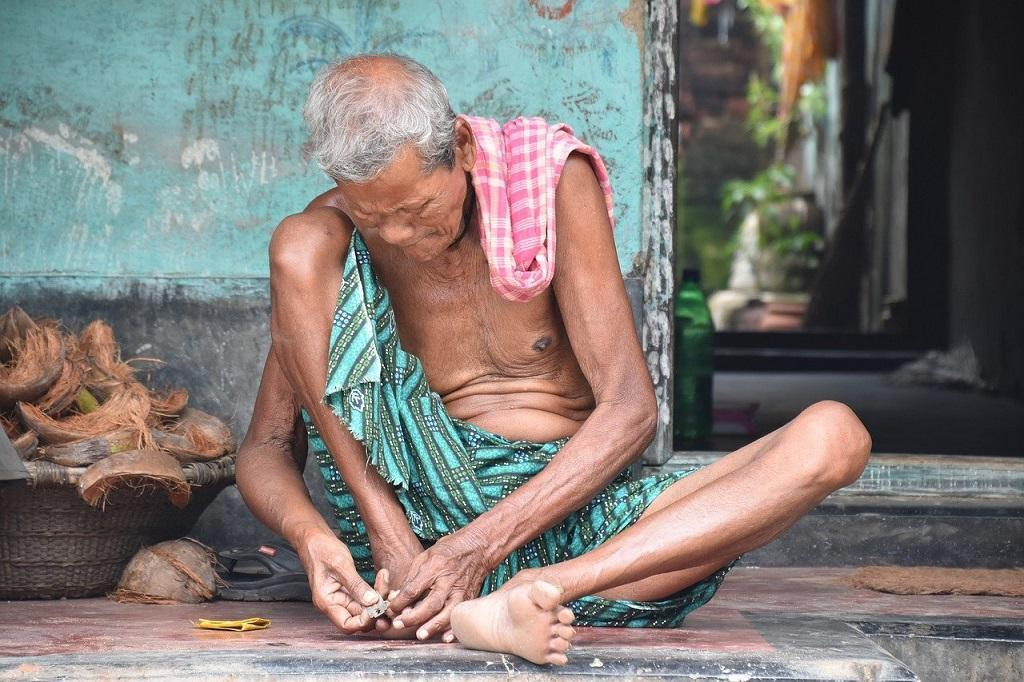 Half of India's elderly malnourished or overweight