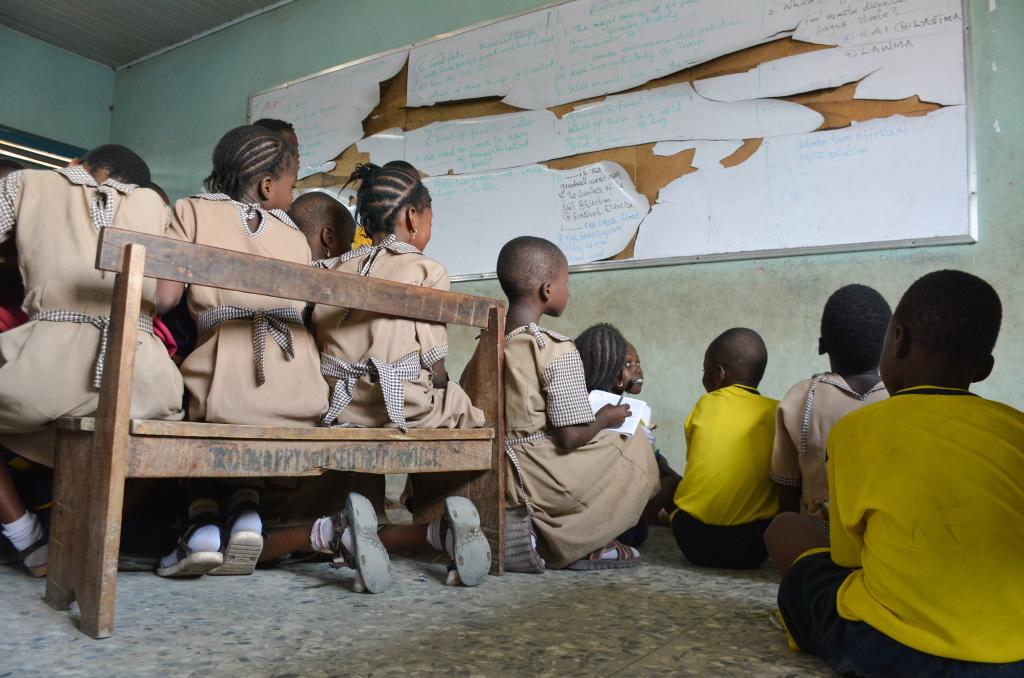 There are very few qualified female teachers in schools in northern Nigeria. Photo: Shutterstock