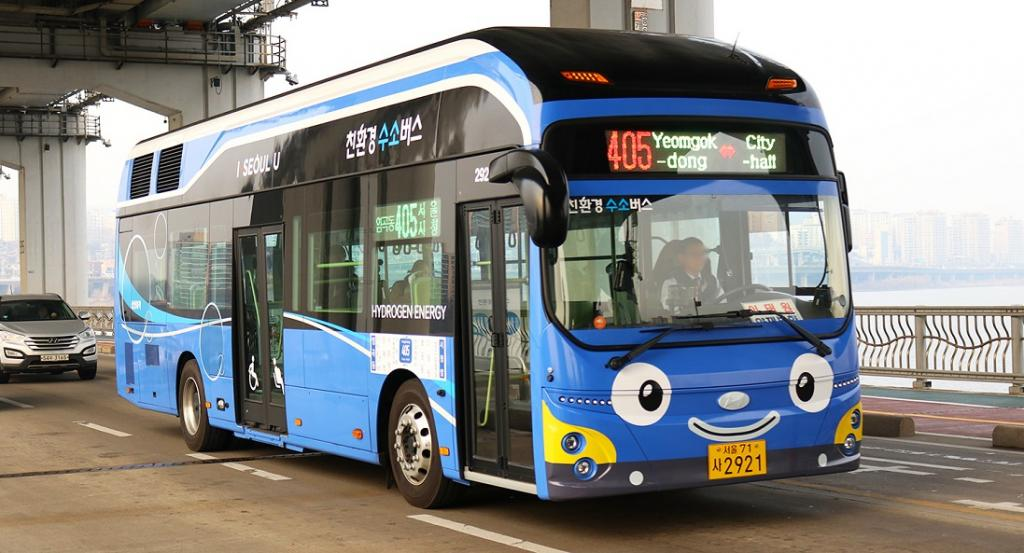 Hydrogen technologies are the next big thing. This is a hydrogen fuel-powered bus in Seoul, South Korea. Photo: Wikimedia Commons