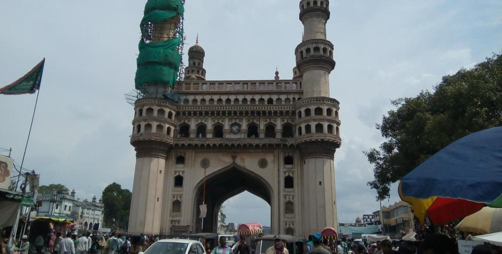The Charminar in Hyderabad. Photo: Wikimedia Commons