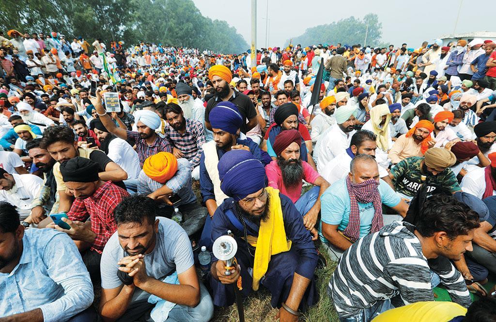 दिल्ली की सीमा पर कृषि कानूनों का विरोध कर रहे किसानों को डर है कि नए कानून न्यूनतम समर्थन मूल्य व्यवस्था को खत्म कर सकते हैं
